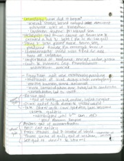 HY 110 Egyptian Religion Notes