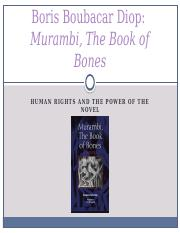 Day 18 - Murambi, The Book of Bones I.pptx