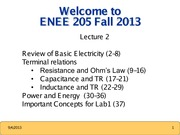 ENEE205 Fall2013 Lecture2 Gomez