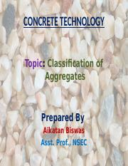 lecture-Classification of Aggregates.pptx