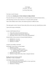 Study Guide_Second Exam_Potter.pdf