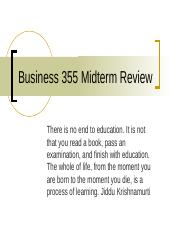Business 355 midterm review.ppt