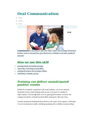 Oral Communication.doc