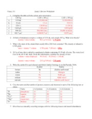 chem131 final exam review worksheet_answers