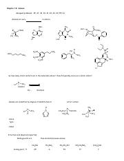 Wade Ch. 19 notes (amines)