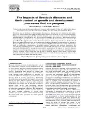 phil trans r soc B 2009 vol 364 no 1530 p2643-2655_The impacts of livestock diseases and their contr