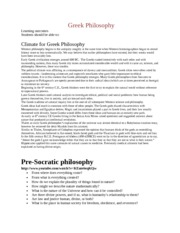 Greek Philosophy updated