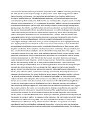 Conclusions The first internationally comparative perspective on the conditions of teaching and lear