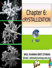 CHAPTER 8 CRYSTALLIZATION.ppt