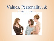 4-4_Values Personality and Lifestyles