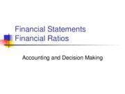 L04 Financial Statements & Ratios