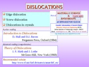 Chapter_5b_Crystal_Imperfections_dislocations
