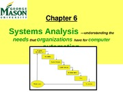 Lecture 6- Systems Analysis
