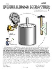 Fuelless Gravity Engine - FGE2 Creative SCIENCE 33 lb 33 lb