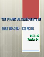 17-EXERCISE - Financial Statement.ppt