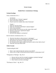 theology 104 reflection paper Check out our top free essays on theology 104 reflection paper to help you write your own essay.