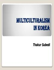 5Migration and Multiculturalism in Korea