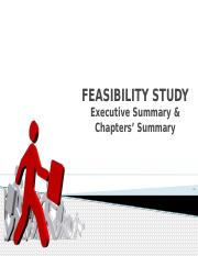2 Feasibility Study - Executive Summary & Chapters Summary.pptx