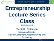 2011 Petersen First Class.Lecture Series.Final
