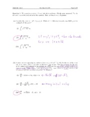 Math 224 Midterm 2 f11 Solutions