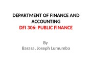 DFI 306 PP-INTRODUCTION