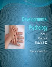 PSY101 Developmental Psychology