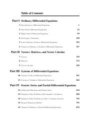 Zill Advanced Engineering Mathematics 5th Edition Solutions Pdf Table Of Contents Part I Ordinary Differential Equations 1 Introduction To Course Hero
