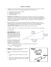 SIMPLE MACHINES NOTE B