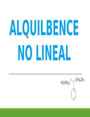 ALQUILBENCENO LINEAL