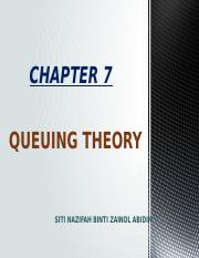 Chapter 7- QUEUING THEORY.pptx