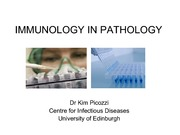 Lecture 22 Immunology in Pathology