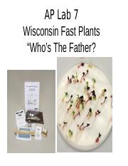 Wisconsin Fast Plants.ppt