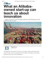 What an Alibaba-owned start-up can teach us about innovation _ The National.pdf