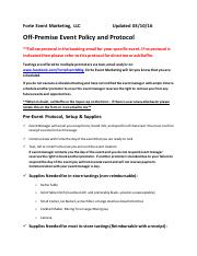 Off Premise Protocol & Policy 3.10.16 - Copy.pdf