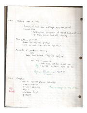 Units, graphs, trigonomety, denisty, and thermometer relating to physics notes