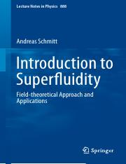 LNP0888 Andreas Schmitt (auth.) - Introduction to Superfluidity_ Field-theoretical Approach and Appl