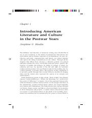 Hendin_sample chapter_postwar american literature and culture.pdf