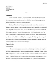 research paper- strokes