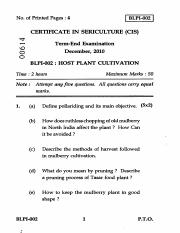 (www.entrance-exam.net)-IGNOU Certificate in Sericulture - Host Plant Cultivation Sample Paper 6.pdf