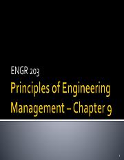 ENGR 203 Chapter 9 2015