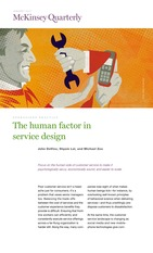 The human factor in service design