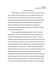 Science Essay Examples Time Machine Essay  Journalism Bennett Journalism In The S The  S Brought In An Entirely New Era Of News Delivery Television By    Of Thesis For Argumentative Essay Examples also Illustration Essay Example Papers Time Machine Essay  Journalism Bennett Journalism In The S  Essay On Health Care