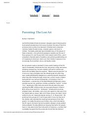 Parenting_ The Lost Art _ American Federation of Teachers.pdf