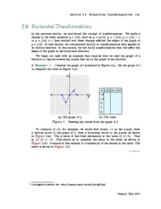 Section 6: Horizontal Geometric Transformations