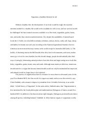 the final research paper
