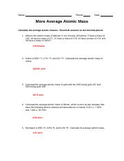 answersforaverageatomicmass.doc