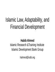 introduction_islamic finance and law