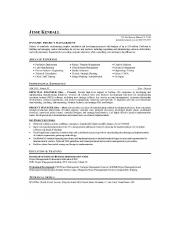 3rd PM resume