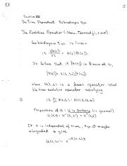 Section XIII Time Dependent Schrodinger Eqn