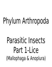 Lec 32 (Parasitic Insect (lice) -  Part 1) 59.pptx